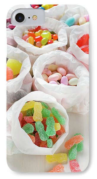 Assorted Sweets In Paper Bags (usa) IPhone Case