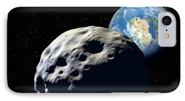 Asteroids Approaching Earth IPhone Case by Detlev Van Ravenswaay