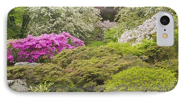 Asticou Azelea Garden - Northeast Harbor - Mount Desert Island - Maine IPhone Case by Keith Webber Jr