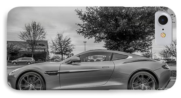 Aston Martin Vanquish V12 Coupe IPhone Case by Robert Loe