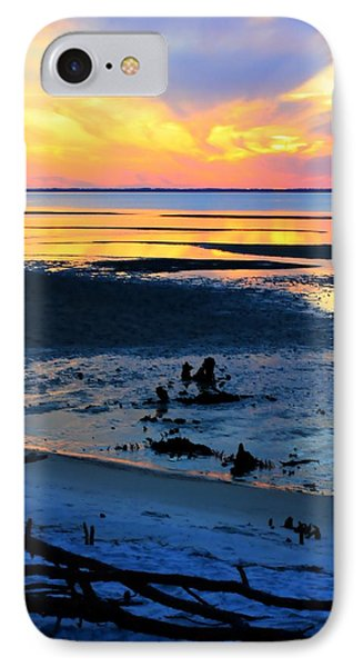 At A Days End IPhone Case by Debra Forand