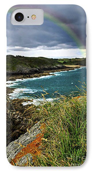 Atlantic Coast In Brittany IPhone Case by Elena Elisseeva
