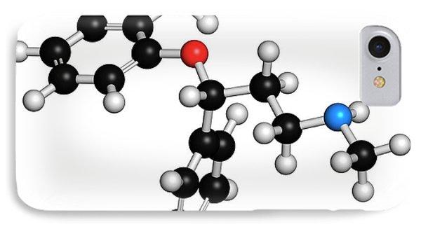 Atomoxetine Adhd Drug Molecule IPhone Case by Molekuul