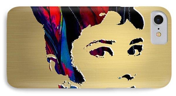 Audrey Hepburn Gold Series IPhone Case