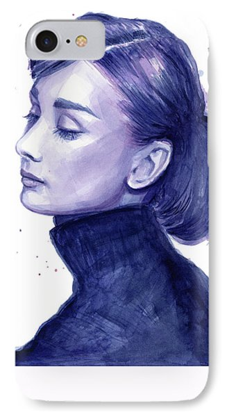 Audrey Hepburn Portrait IPhone 7 Case