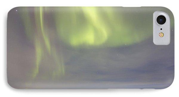 Aurora Borealis With Big Dipper Phone Case by Joseph Bradley