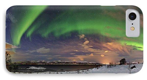 Aurora Panorama IPhone Case