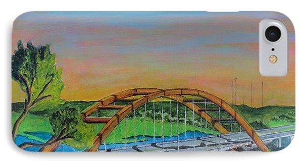 Austin 360 Bridge Austin Texas IPhone Case by Manny Chapa