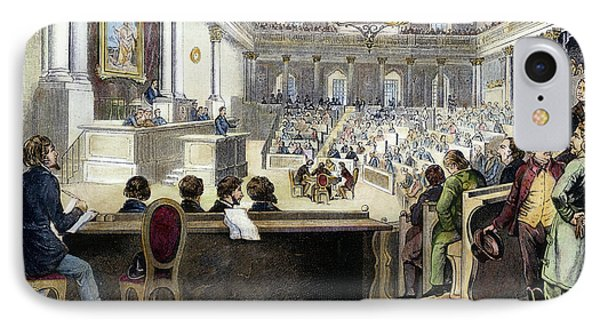 Austrian Assembly, 1848 IPhone Case by Granger