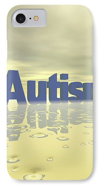 Autism IPhone Case by Carol & Mike Werner