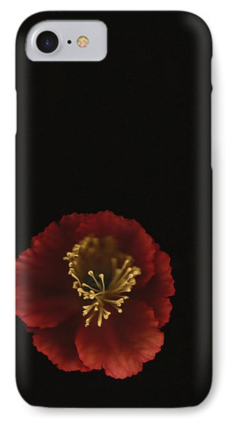 Autographic Poppy - Color IPhone Case