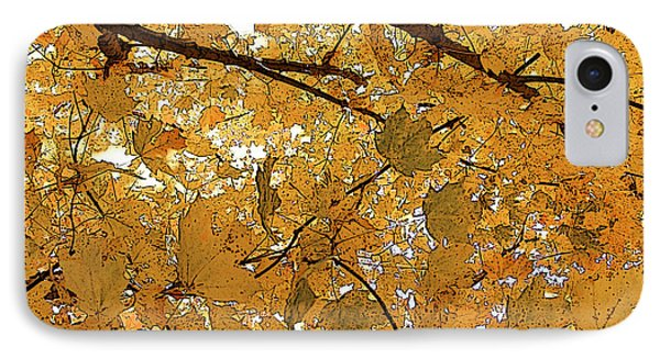 IPhone Case featuring the photograph Autumn Canopy  by Margie Avellino