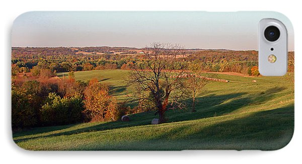 Autumn Countryside IPhone Case by Ellen Tully