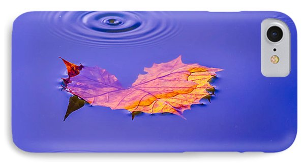 IPhone Case featuring the photograph Autumn Drops by Brian Stevens