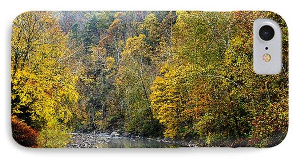 Autumn Elk River Phone Case by Thomas R Fletcher
