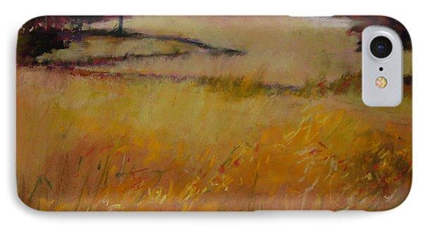 Autumn Field Phone Case by Jeanne Rosier Smith