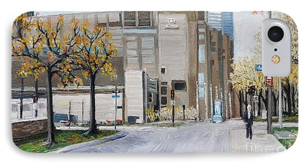 Autumn In The City IPhone Case by Reb Frost