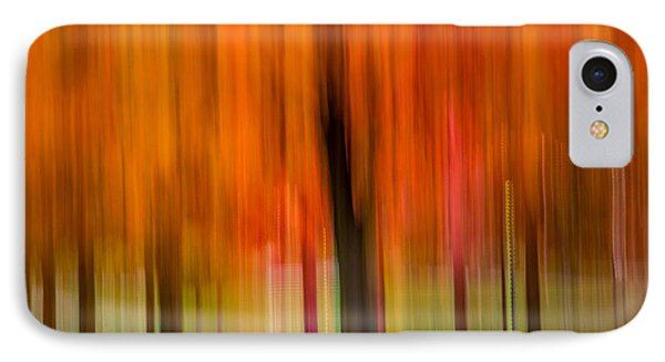 Autumn Park 2 IPhone Case by Susan Cole Kelly Impressions