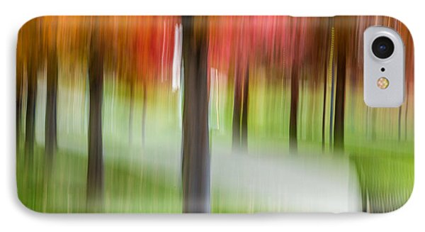 Autumn Park 3 IPhone Case by Susan Cole Kelly Impressions