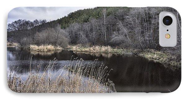 Autumn Pond IPhone Case