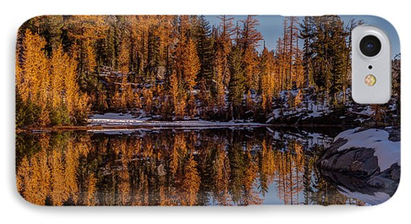 Autumn Reflected Phone Case by Mike Reid