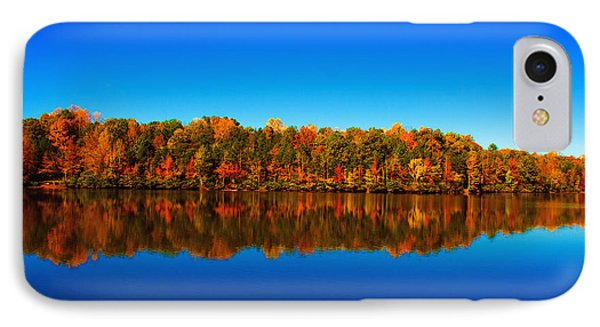 IPhone Case featuring the photograph Autumn Reflections by Andy Lawless