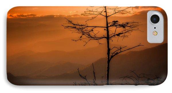Autumn Stillness IPhone Case by Deborah Scannell