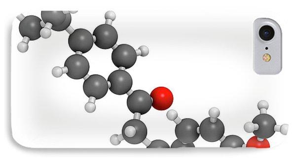 Avobenzone Sunscreen Molecule IPhone Case