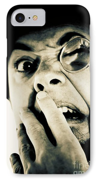 B-grade Vintage Horror IPhone Case by Jorgo Photography - Wall Art Gallery