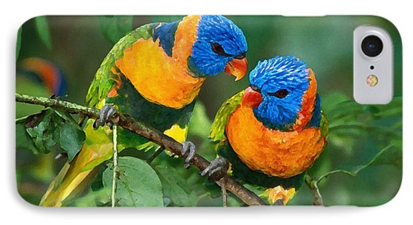 Baby Birds  IPhone Case by Marvin Blaine