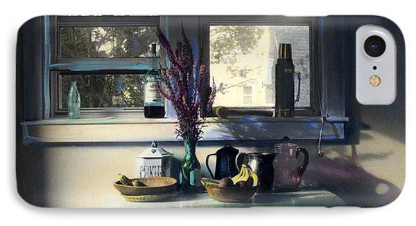 Bachelor's Kitchen - V IPhone Case by Cindy McIntyre