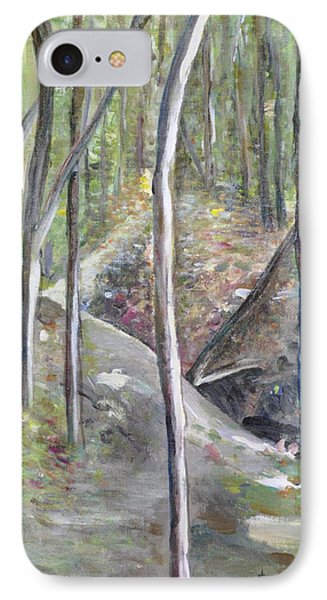 Backyard At Sussex 3 IPhone Case by Dottie Branchreeves