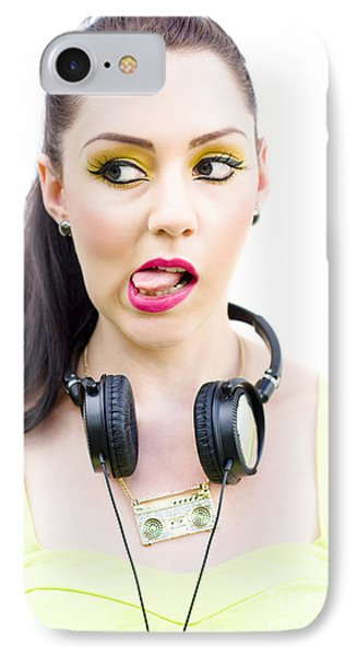 Bad Taste In Music IPhone Case by Jorgo Photography - Wall Art Gallery