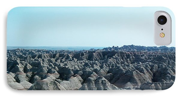 Badlands Lan398 IPhone Case by G L Sarti