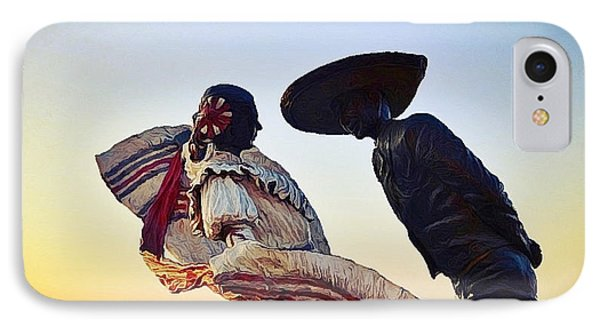 'bailarines De Vallarta' By Jim Demetro IPhone Case