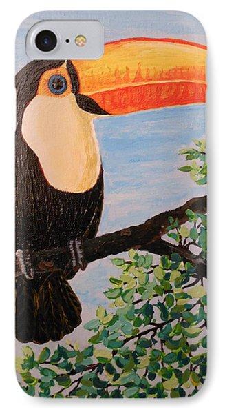 Balance That Beak Phone Case by Martha Cervantes