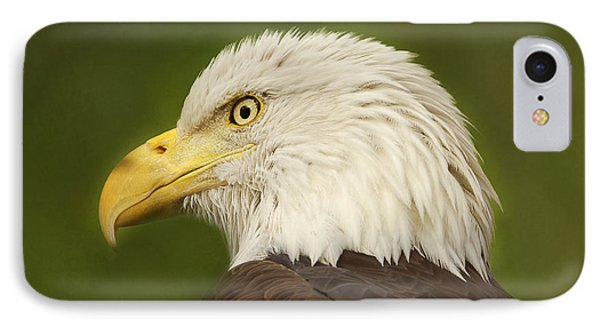 IPhone Case featuring the photograph Bald Eagle  by Brian Cross