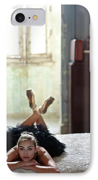 Ballerinas In Cuba IPhone Case by Kike Calvo