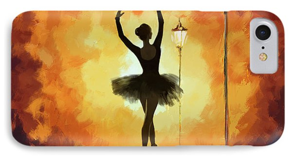 Ballet Dancer IPhone Case by Corporate Art Task Force