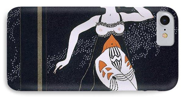 Ballet Scene With Tamara Karsavina IPhone Case by Georges Barbier
