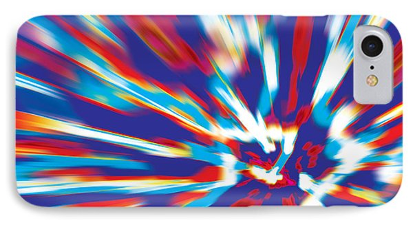 IPhone Case featuring the digital art Bang by David Davies