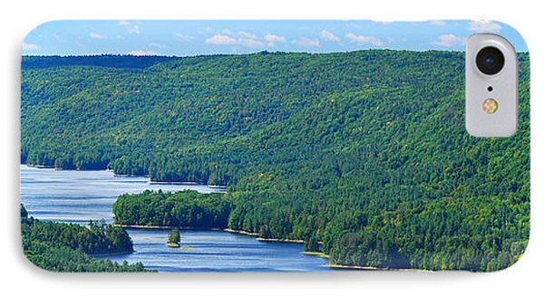 Barkhamsted Reservoir IPhone Case by HD Connelly