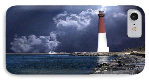 Barnegat Inlet Lighthouse Nj Phone Case by Skip Willits