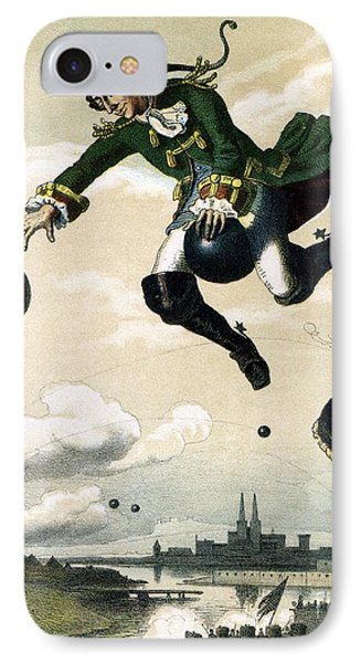 Baron Munchausen  IPhone Case by Celestial Images