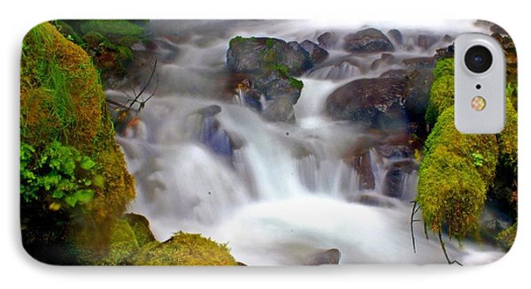 Base Of The Falls Phone Case by Marty Koch