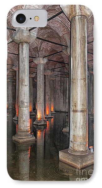 Basilica Cistern 02 IPhone Case by Antony McAulay