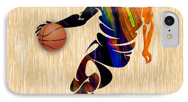 Basketball IPhone Case by Marvin Blaine