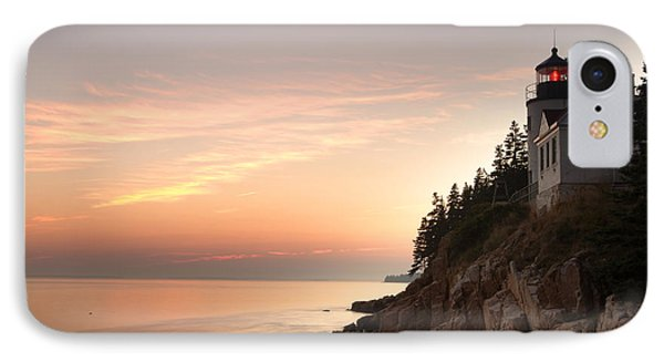 Bass Harbor Lighthouse IPhone Case by Eric Foltz