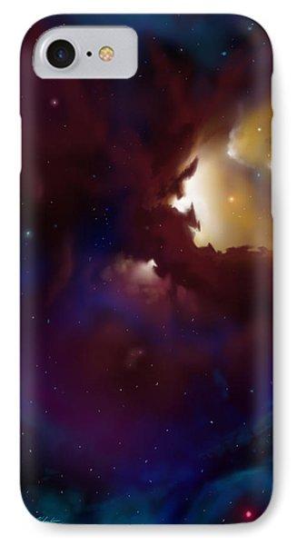 Bat Nebula IPhone Case by James Christopher Hill