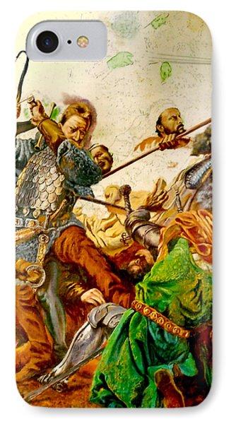 Battle Of Grunwald IPhone Case by Henryk Gorecki